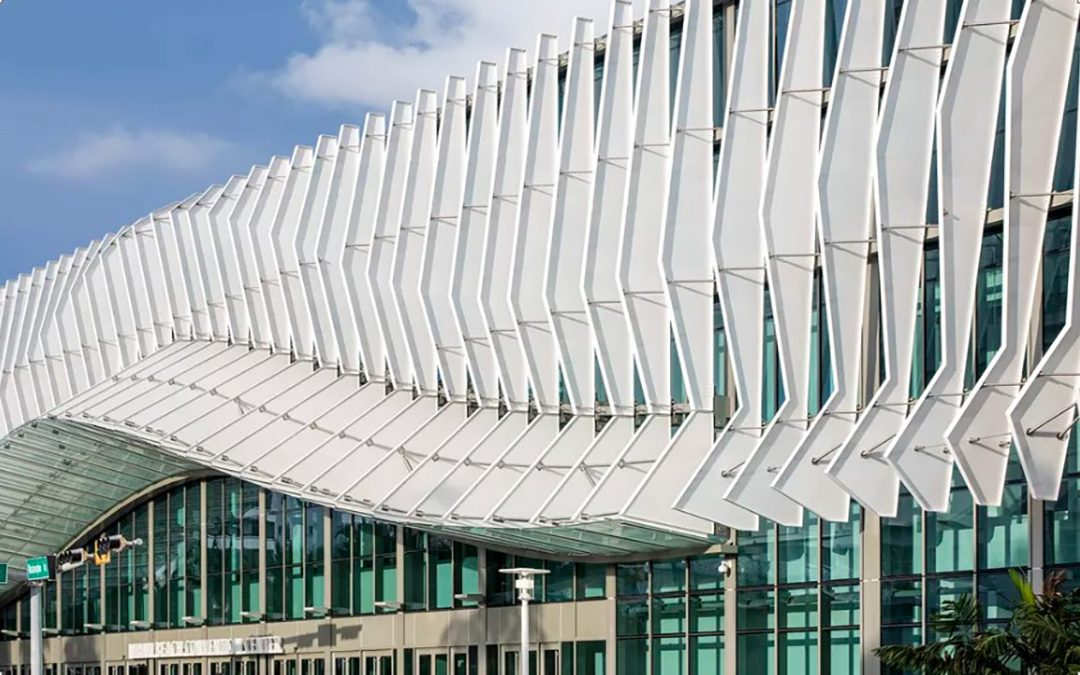 Miami beach convention center shows off its finned - Home design miami beach convention center ...