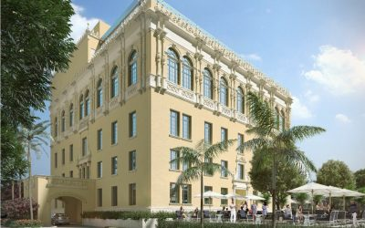 DAVID GRUTMAN FILES PLANS TO BUILD MYSTERIOUS MULTI-LEVEL RESTAURANT AT HISTORIC MIAMI WOMEN'S CLUB