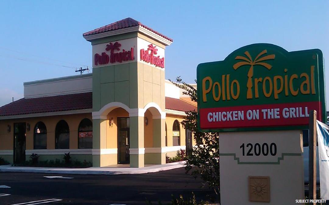 Pollo Tropical Triple Net (NNN) Commercial Property  Miami, Florida